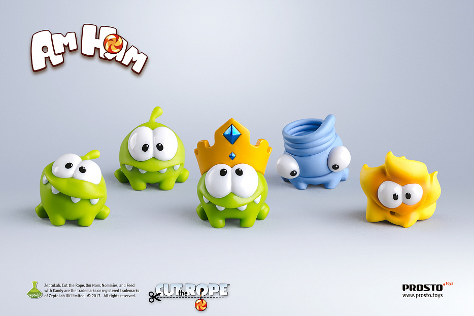 набор 11 - «Cut the Rope», 5 фигурок Фото 0